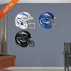 Boise State Broncos Helmet Collection Fathead Wall Decal